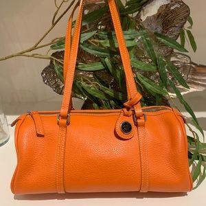 Dooney & Bourke leather barrel bag 🎃